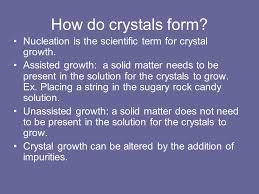growing sugar crystals sce 5020 fri am ppt download