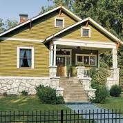 craftsman exterior paint colors this old house