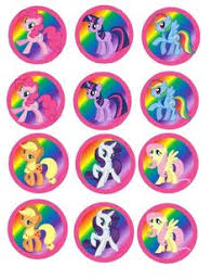 my pony cupcake toppers click here to free printable my pony cupcake