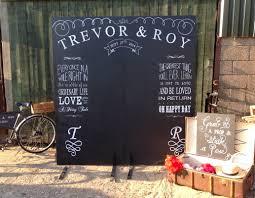 wedding backdrop board chalk boards nerissa weddings
