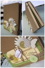 scrapbooking tutorial cornice cornici mini album pinterest album