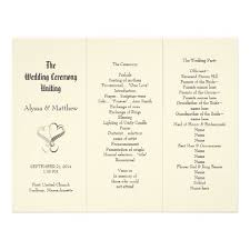 create your own wedding program best 25 print your own wedding programs ideas on diy