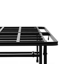 zinus 14 inch elite smartbase mattress foundation for big u0026 tall