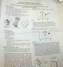 sp20161a rheem combination control replacement kit famous parts