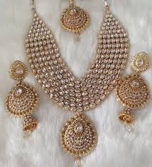 indian bridal jewelry necklace images Indian bridal jewelry set beautiful polki necklace set png