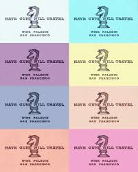 Business Cards San Francisco Tom Mcmahon Have Gun Will Travel Business Cards Now In Pastel