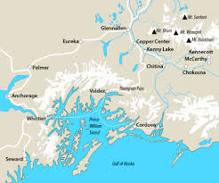 Cordova Alaska Map by Client Projects U2014 Kristin Link