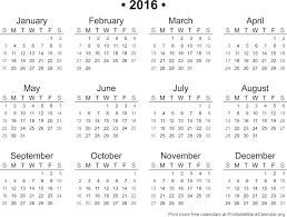 full page blank calendar 2015