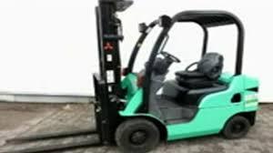mitsubishi fd10n fd15n fd18n fd20cn forklift trucks service repair
