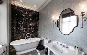 black and silver bathroom ideas 21 cool black and white bathroom design ideas