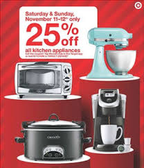 target offers 25 percent kitchen gear in pre black friday sale