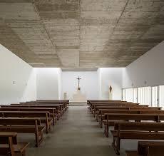 elisa valero completes concrete church in playa granada