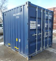 storage container item da0526 sold march 2 construction
