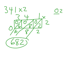 3 digit by 1 digit multiplication worksheets showme lattice multiplication 3 digit by 1 digit