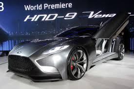 hyundai supercar hyundai hnd 9 concept auto express