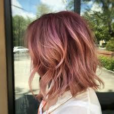 Bob Frisuren Pink by Pink Hair Gold Rooted Balayage Bob Lob Texture