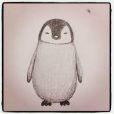 penguin baby tattoo sketch real photo pictures images and