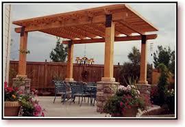 Wood Awning Design Backyard Awning Ideas