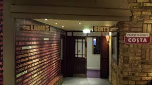 bathroom bar restaurant and function room signs for the