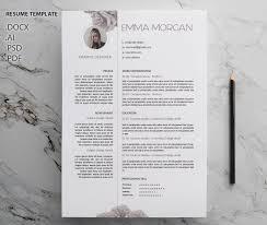 rose resume template cv template letterhead simple resume