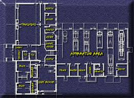 volunteer fire station floor plans floor plan upper saucon volunteer fire department 1