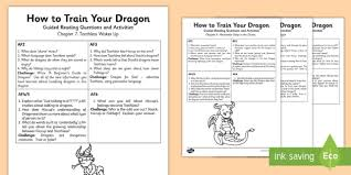 train dragon guided reading pack guided reading