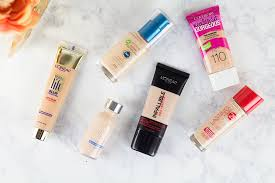 light coverage foundation drugstore best drugstore foundations hairspray and highheels