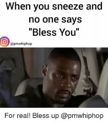 Sneeze Meme - when you sneeze and no one says bless you pm whiphop for real