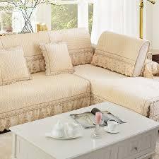 couverture canapé l europe en peluche dentelle tissu couverture canapé matelassé