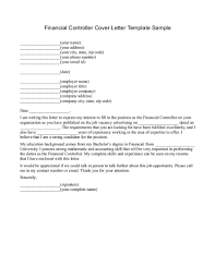 Compliance Officer Cover Letter Financial Controller Cover Letter Images Cover Letter Ideas