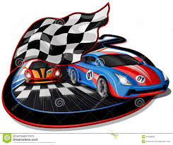 Ford Racing Flag Race Cars Logo Coloring Pages And Cars