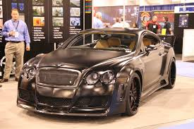 custom bentley convertible sema 2009 blackout bentley photo gallery autoblog