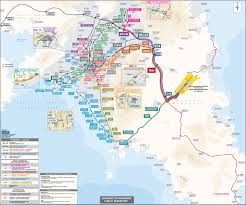 Bariloche Argentina Map Athens Public Transportation Map Athens For Business Travel