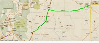 Taos New Mexico Map by Roving Reports By Doug P September 2014