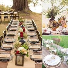 stylish outdoor wedding table decoration outdoor wedding table