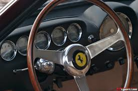 lifted ferrari 1963 ferrari 250 gt lusso wood rimmed nardi steering wheel