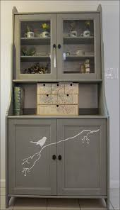 Ikea Kitchen Hutch Kitchen Glass Buffet Server Dining Room Sideboard Glass Cabinet