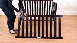 delta convertible crib instructions delta children emery crib assembly video youtube