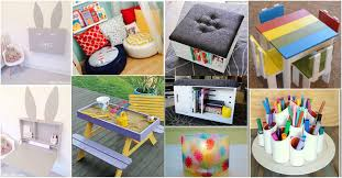 the craft room again with the kids and kids craft room ideas small