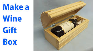 wine gift boxes a wood wine gift box woodworkweb