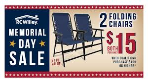 rc willey black friday 2017 2016 rc willey memorial day sale chair promo youtube