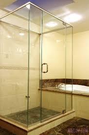 bathroom shower cost of frameless glass shower enclosure balcony