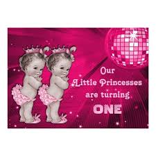 818 best baby twins 1st birthday party invitations images on