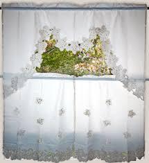 aliexpress com buy europe style kitchen curtains kit openwork