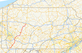 Pa Counties Map U S Route 119 In Pennsylvania Wikipedia