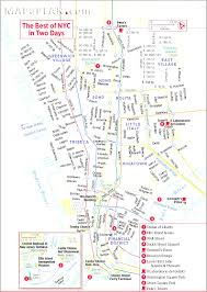 New York Tourist Attractions Map by Printable Travel Maps Of New York Throughout Map New York City