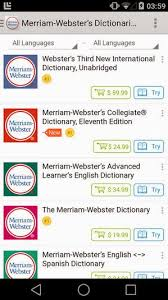 meriam webster dictionary apk merriam webster s dictionaries 4 6 42 57 unlocked apk apkradar