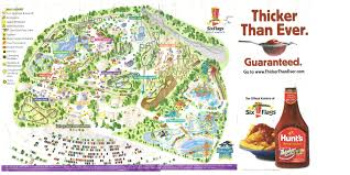 Where Is Six Flags America Theme Park Brochures Six Flags Great America Theme Park Brochures