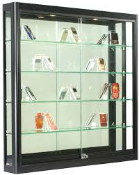 Curio Cabinet With Glass Doors Black Cabinet With Glass Door Wheelracer Info