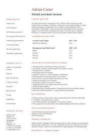 dental hygienist resume sample tips resume genius sample resume